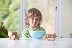 Капризи по време на хранене при децата